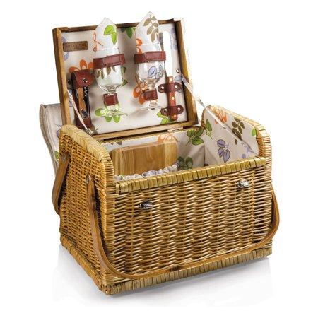 Picnic Time Botanica Kabrio Wine and Cheese Basket