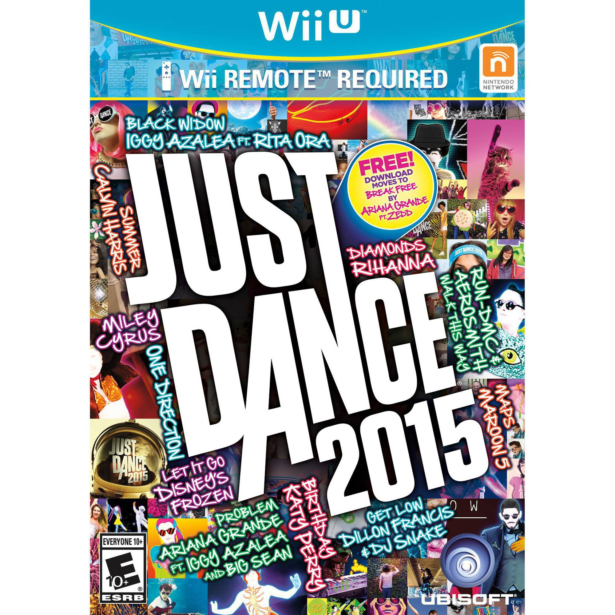 Just Dance 2015, Ubisoft, Nintendo Wii U, 887256301101