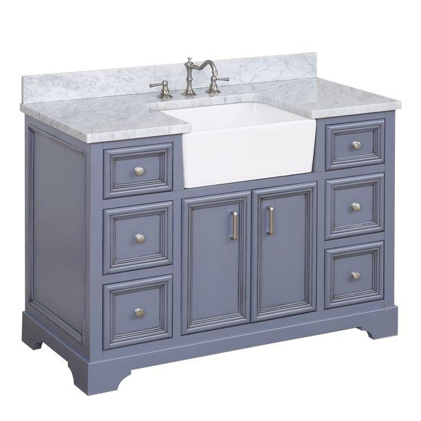 Zelda 48 Bathroom Vanity Walmart Com Walmart Com