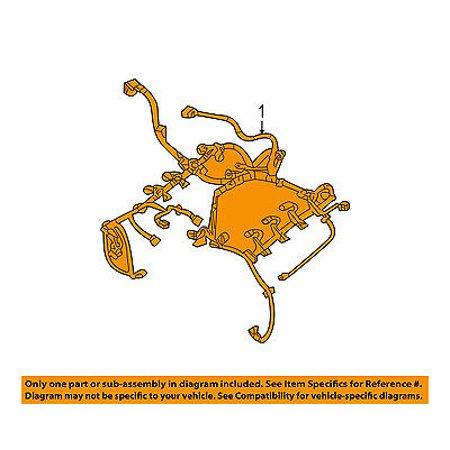 dodge chrysler oem 2012 challenger 6 4l wiring harness-wire harness  68141160ac - walmart com