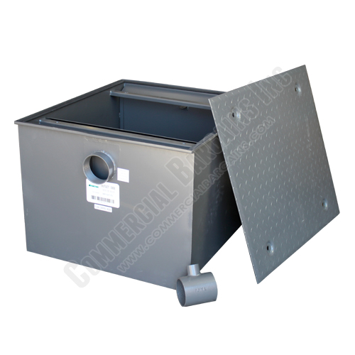 WentWorth 150 Pound Grease Trap Interceptor 75 GPM Gallons Per Minute WP-GT-75