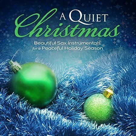 Quiet Christmas: Beautiful Sax Instrumentals / Various - Happy Halloween Music Instrumental