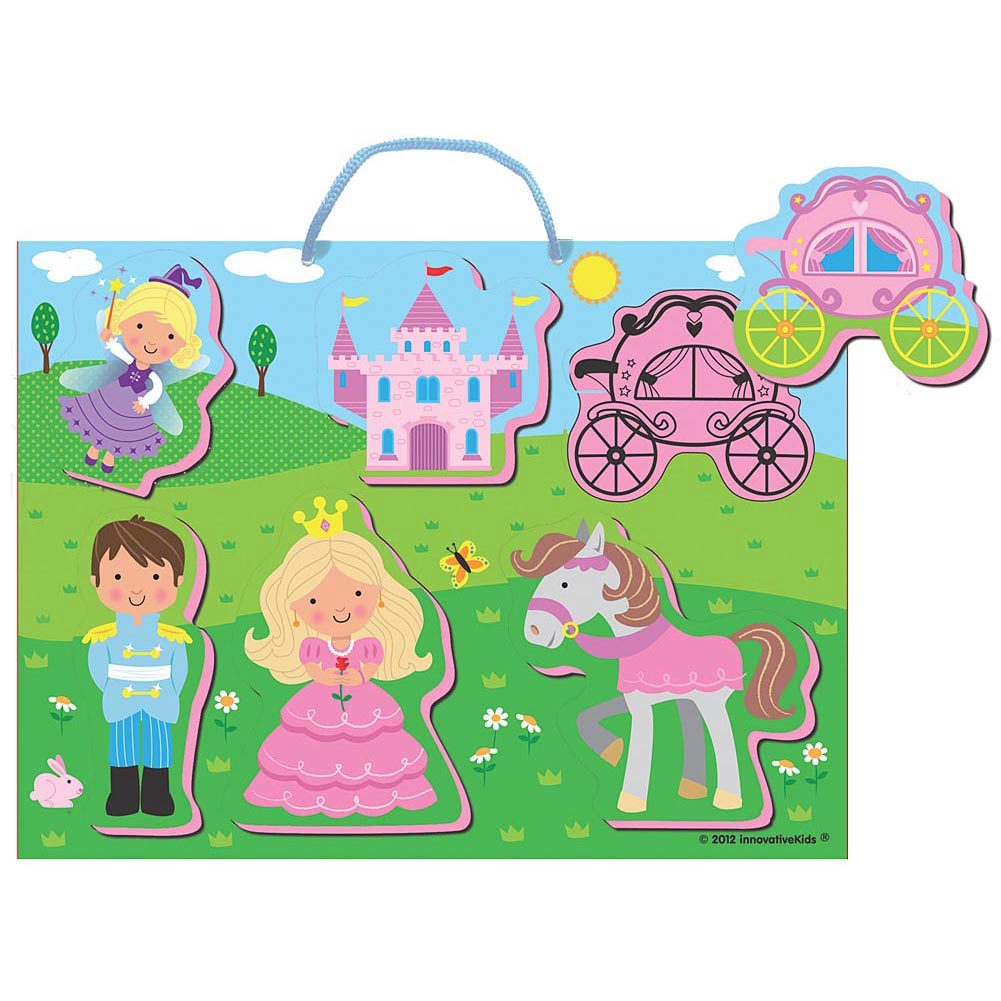 Magical Kingdom 6 Piece Foam Puzzle,  Kids Puzzles by Innovative Kids