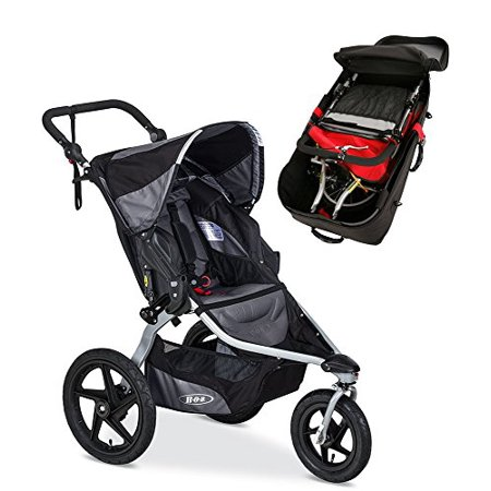 Bob Revolution Flex Stroller Travel Bag Bundle Black