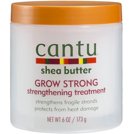 2 Pack - Cantu Shea Butter Grow Strong Strengthening Treatment 6 oz