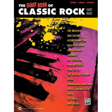 The Giant Classic Rock Piano Sheet Music Collection - Piano Sheet Music Halloween