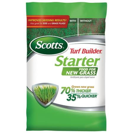 Scotts Turf Builder Starter Food for New Grass, 14,000 sq. ft.