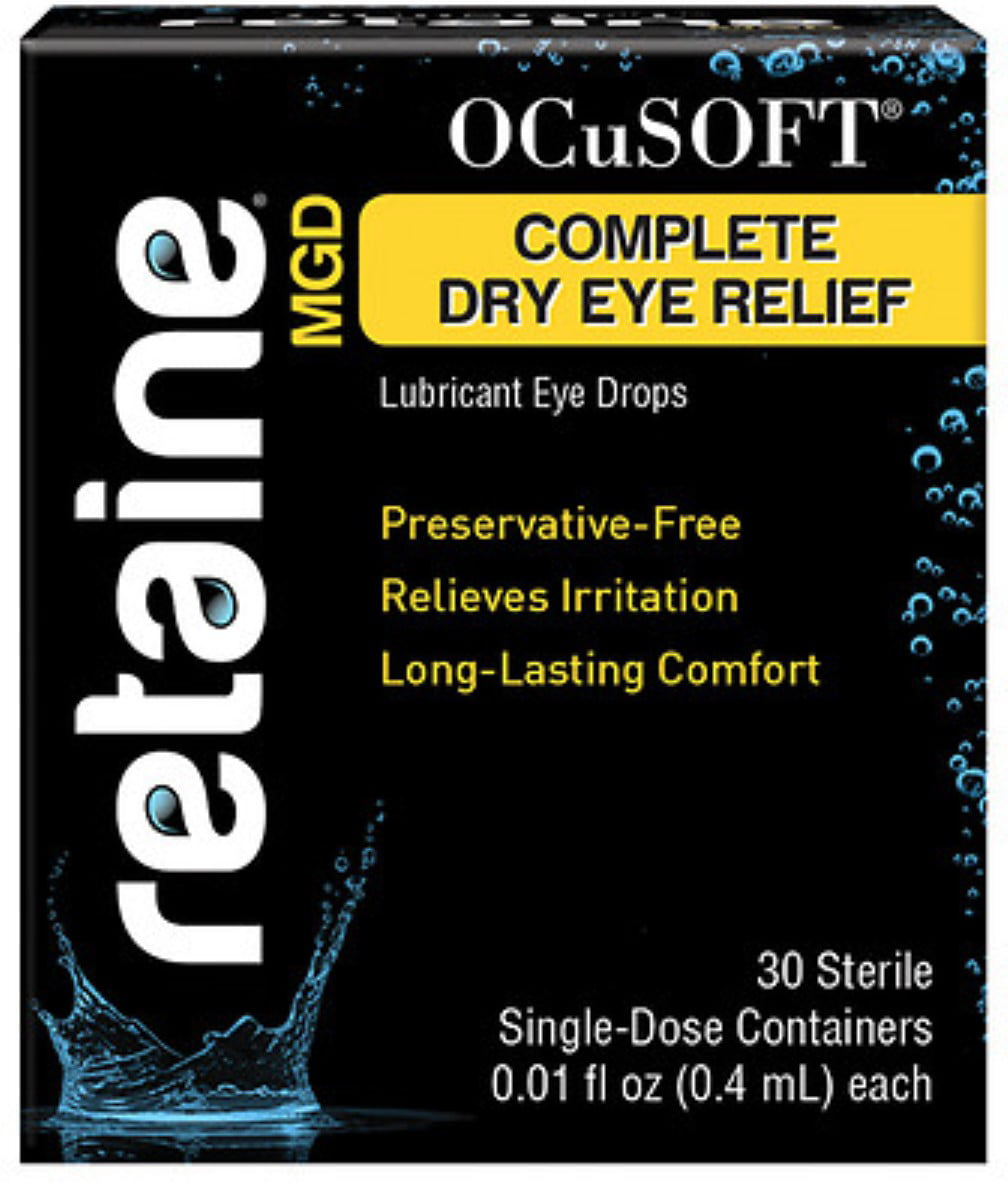 OCuSOFT Retaine MGD Ophthalmic Emulsion Sterile Single-Dose Containers, 30 ea