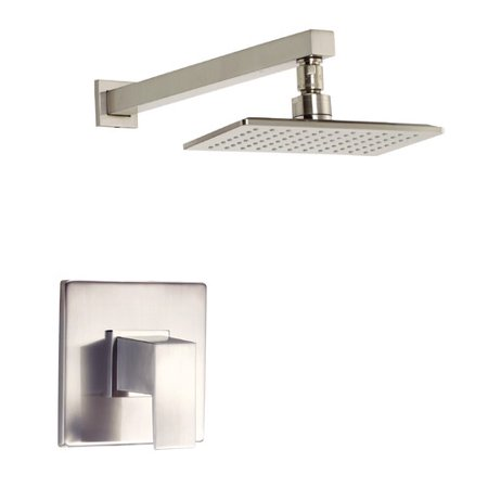Ceramic Trim Shower (Danze Mid-Town Shower Faucet Trim with Lever Handle )