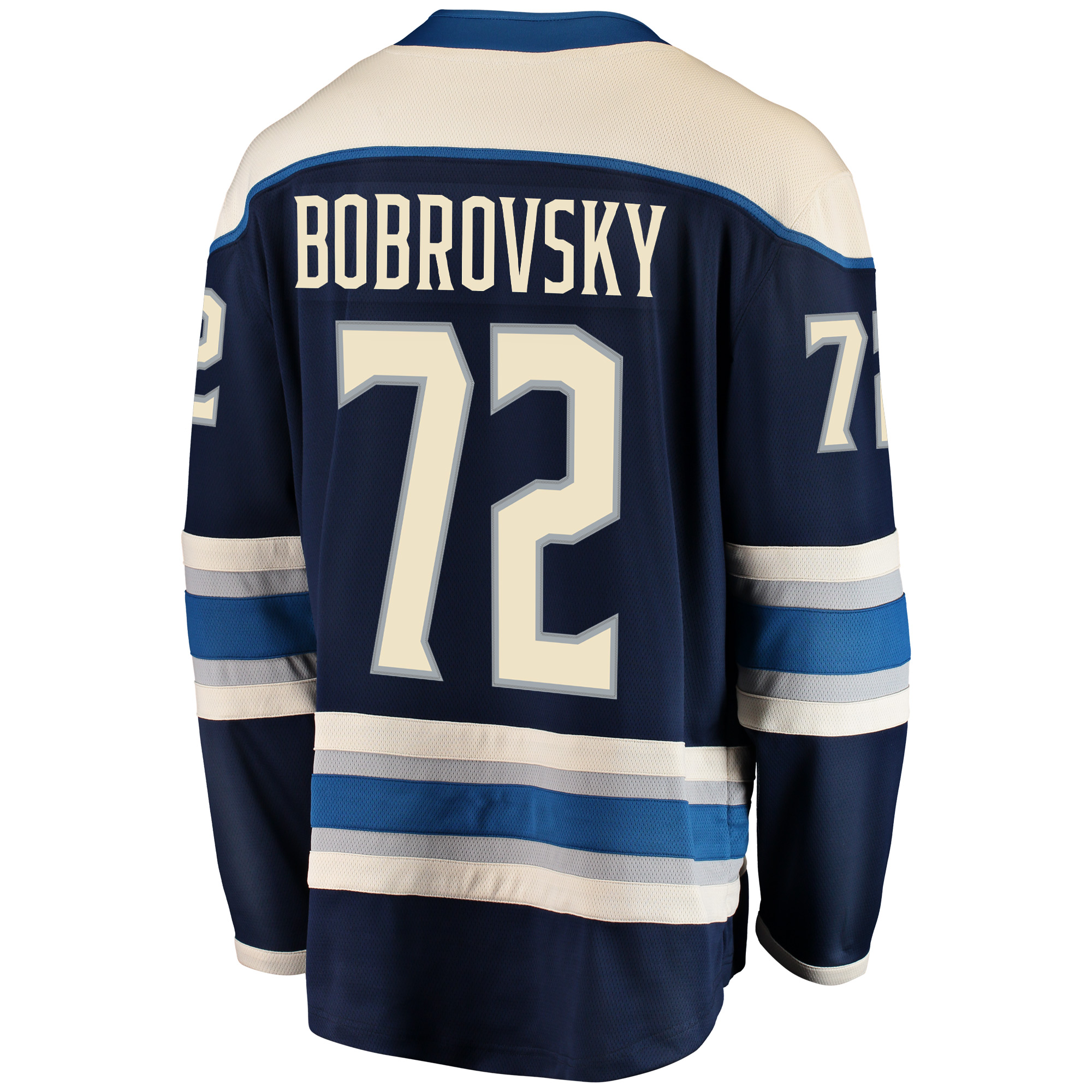 low cost 4dab3 1f33a Sergei Bobrovsky Columbus Blue Jackets Fanatics Branded Breakaway Alternate  Player Jersey - Navy - Walmart.com