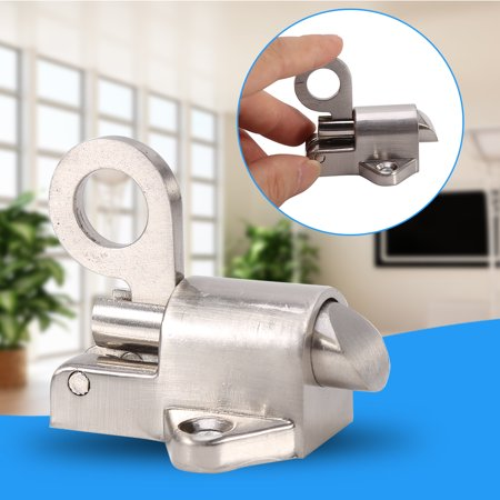 Window Gate Security Pull Ring Spring Bounce Door Bolt Aluminum Latch Lock , latch lock ,window lock