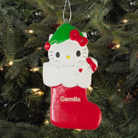 Personalized Hello Kitty Christmas Ornament Walmart Com