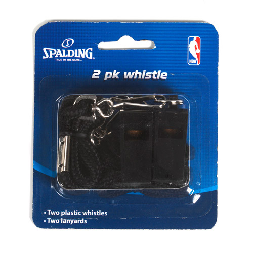 Spalding Whistles, 2-Pack
