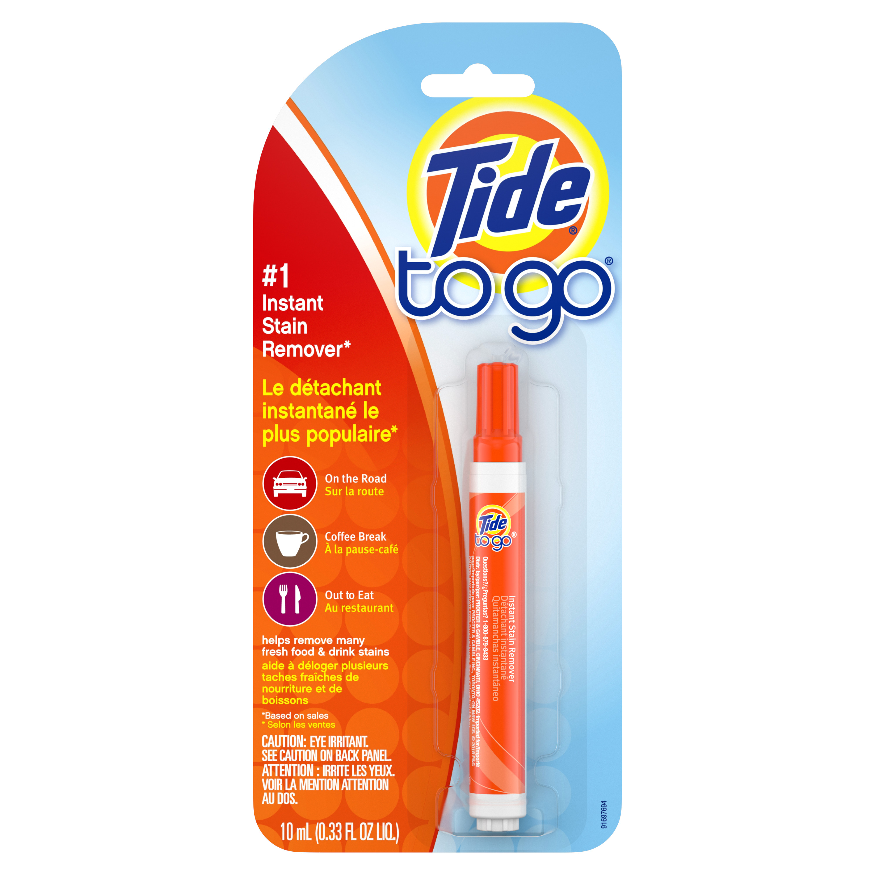 Tide To Go Instant Stain Remover, 1 count - Walmart com