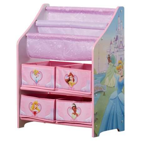 Delta Children Disney Princess Book & Toy Organizer   Walmart.com
