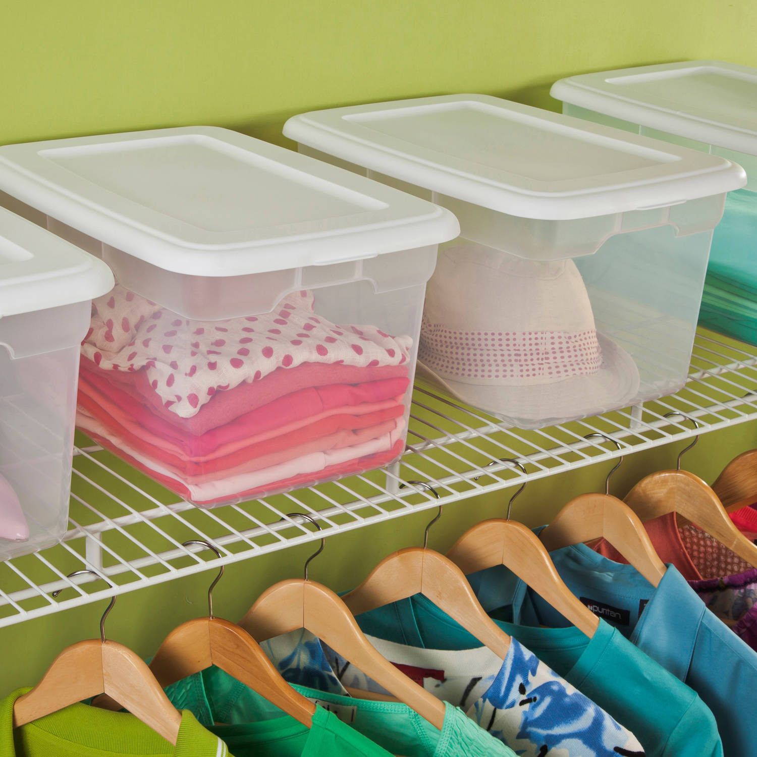 Sterilite 20 Quart Storage Box- White (Available in Case of 6 of Single Unit)