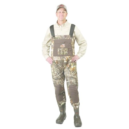 Caddis 5mm Max5 Dura-Breathable Bootfoot Chest Waders Size:10 WFW19801W-10