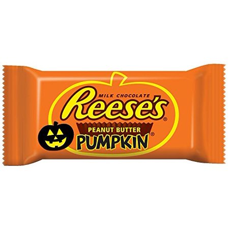 Reese's Halloween, Peanut Butter Pumpkins, 1.2-Ounce (Pack of 36) - Reese Pieces Halloween Size