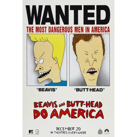 Beavis and Butthead Do America (1996) 27x40 Movie - Beavis And Butthead Halloween