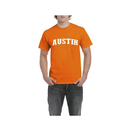 Texas Austin Men Shirts T-Shirt Tee