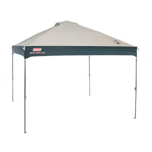 Coleman 10' x 10' Straight Leg Instant Canopy Gazebo (100 sq. ft Coverage) by COLEMAN