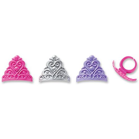 Princess Queen Crowns Cupcake Rings - 12 Count - National Cake Supply - Cupcake Queen