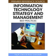 Information Technology Strategy and Management : Best Practices