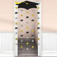 Grad Cap Doorway Curtain
