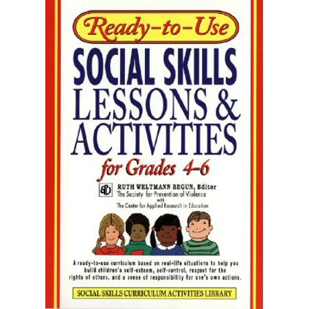 Ready-To-Use Social Skills Lessons & Activities for Grades 4 - 6 (Halloween Art Lessons For Grade 6)