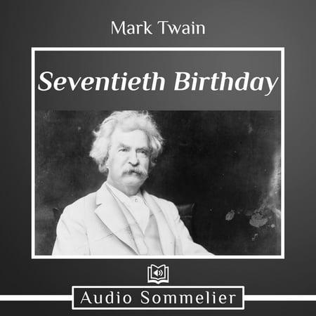 Seventieth Birthday - Audiobook