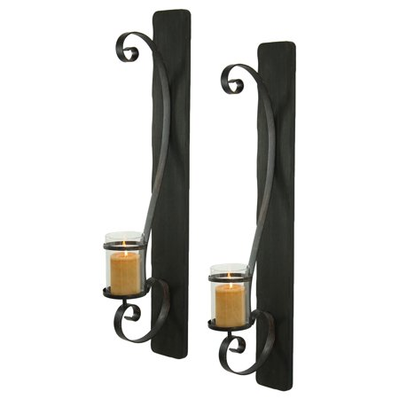 Aspire Home Accents Arya Candle Wall Sconce   Set Of 2