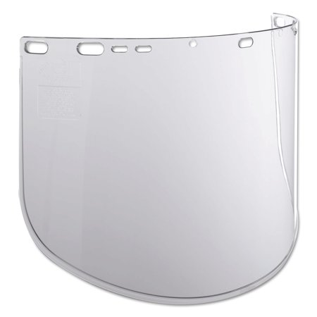 Jackson Safety F40 Propionate Face Shields, 915-60, Clear, 15 1/2 in x 9 in, Bulk