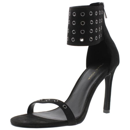 Pelle Moda Womens Ansley2 Leather Ankle Strap Dress Sandals