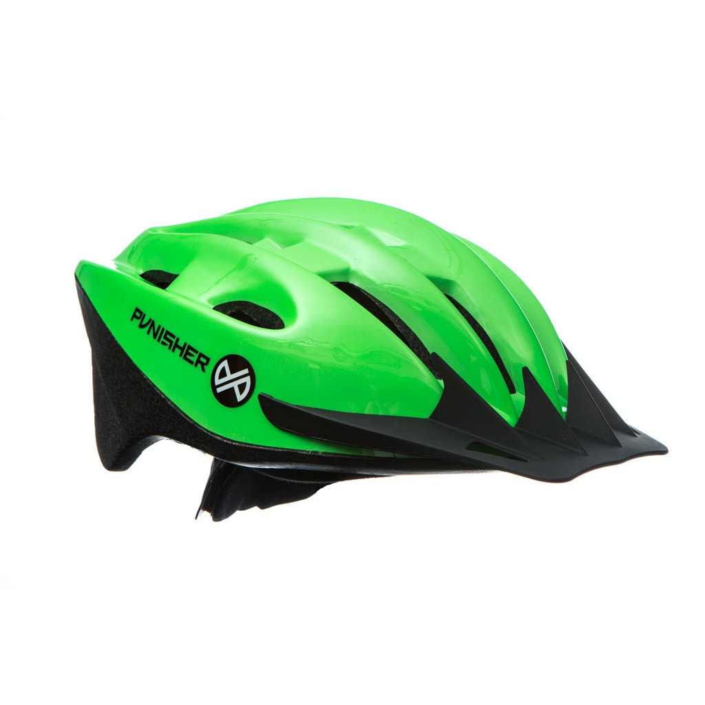 18-Vent Adult Cycling Helmet, Lime Green by Punisher Skateboards