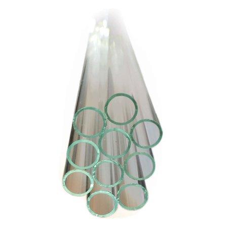 GSC International 12MMSLT-24 Flint Glass Tubing, 12mm Diameter, 24