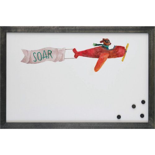 Petal Lane Watercolor Dog Magnetic Memo Board