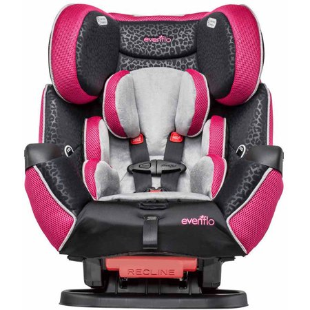 evenflo symphony lx all in one convertible car seat adrianne. Black Bedroom Furniture Sets. Home Design Ideas