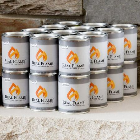Real Flame 24 Pk  Gel Fuel