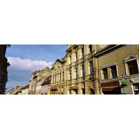 Buildings in a city Town Center Brasov Transylvania Romania Canvas Art - Panoramic Images (36 x 13)