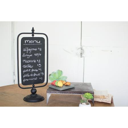 Gwg Outlet Table Top Swivel Chalkboard Sign CXF1371