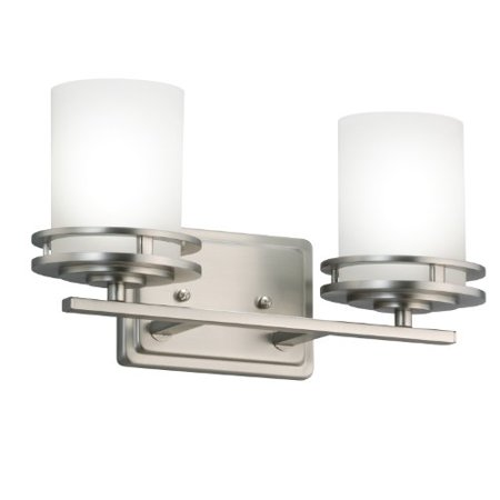 Kichler 5077NI Bath 2-Light, Brushed Nickel
