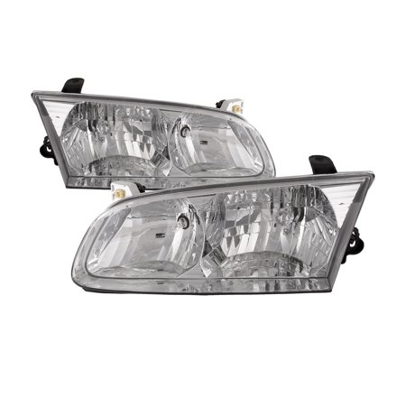 Toyota Camry Right Headlight - 2000-2001 Toyota Camry New Headlight Left Right Set Headlamp Pair Assembly TO2502130 & TO2503130