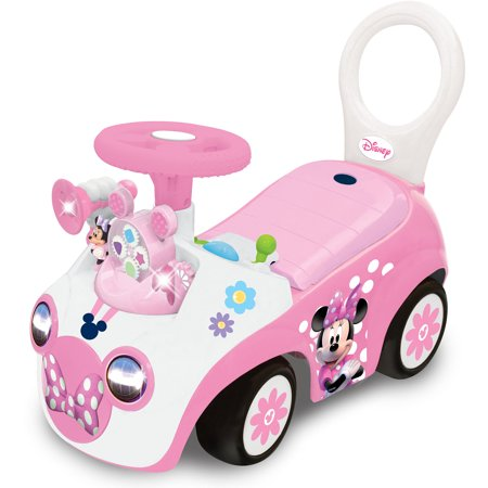 Kiddieland Disney Minnie Mouse Activity Gears Ride-On by