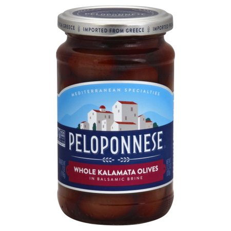 Mediterranean Olive - Melting Pot Foods Peloponnese Mediterranean Specialties Olives, 11.3 oz