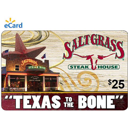 Saltgrass Steakhouse $25 eGift Card (Email Delivery)