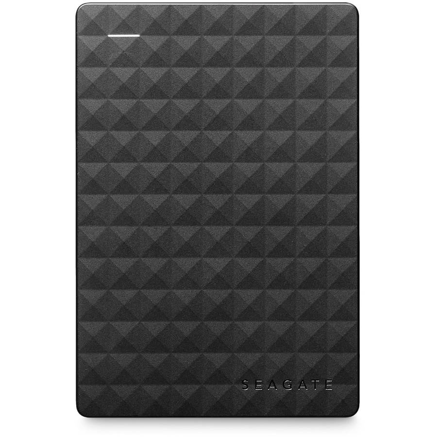 Seagate Expansion 4TB Portable External Hard Drive, Black