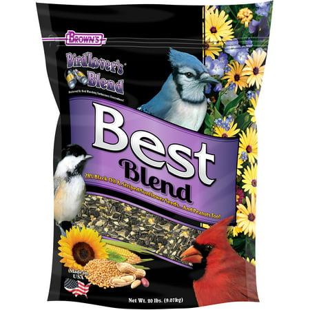 Bird Lover's Blend Best Blend, 20 lb.