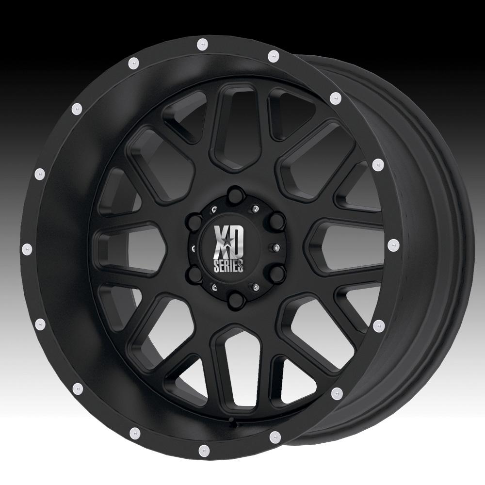 KMC-XD Wheels XD82022968715 XDWXD82022968715 GRENADE 22X9.5 6X5.5 BLACK (15 MM)