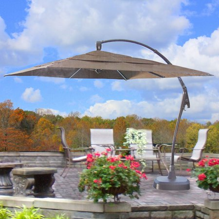 Garden Winds Replacement Canopy Top for Costco Square Umbrella