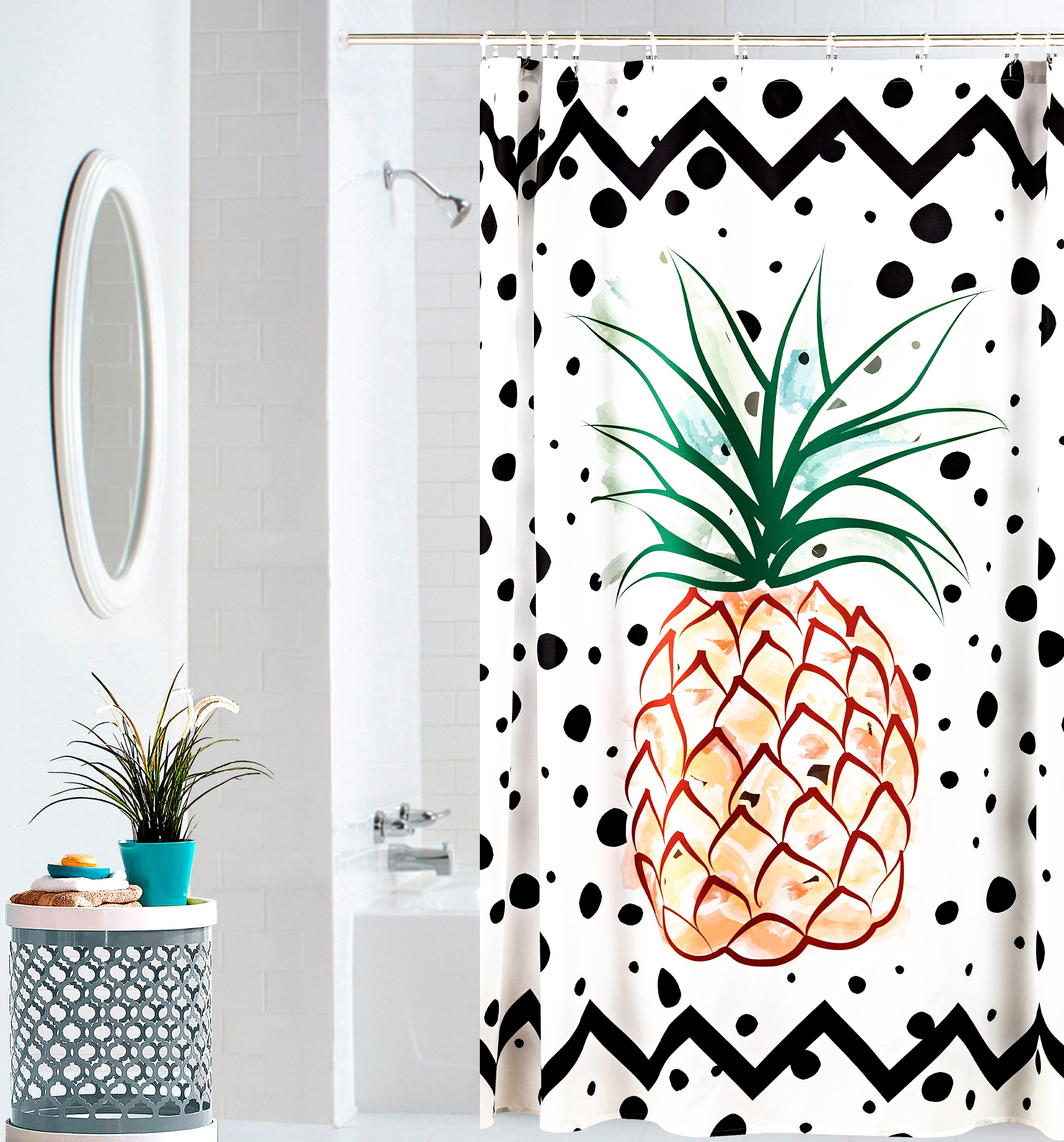Mainstays Fun, Fresh Shower Curtain